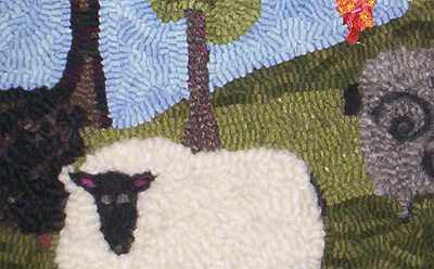 Mountain Wool Rug Hooking Kits By Sara Beth Black Resources